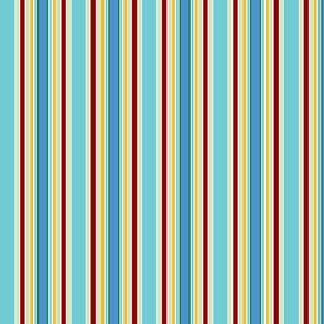 KC stripe aqua