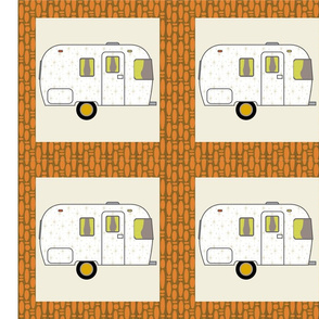 Cheater Quilt, Fill-a-Yard - Airstream2_Multi
