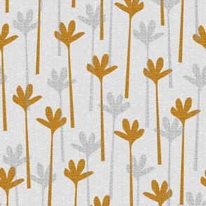 cut paper grasses