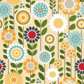 Take a Break, Folksy Floral