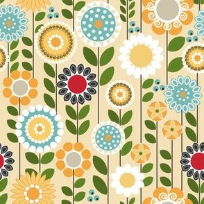 Take a Break, Folksy Floral Small
