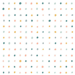 Large scale- Painted Confectionery Dots  - Large scale