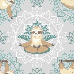 Sloth bear yoga