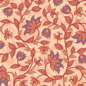 Kalamkari Floral-3