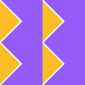 Quarter triangle D stripe BMG-RB