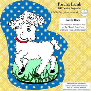 Pascha Lamb, Back Only