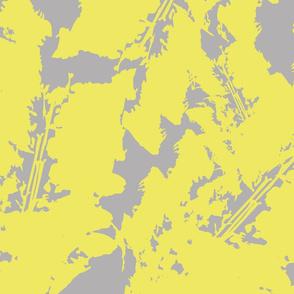 uplifting foliage yellow and gray