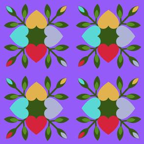 Circle of Hearts - Scarlett's Palette 3 ltRB