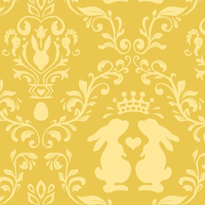 bunny wonderland yellow