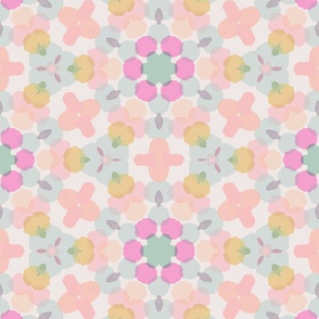 Floral Pop Retreat- wallpaper