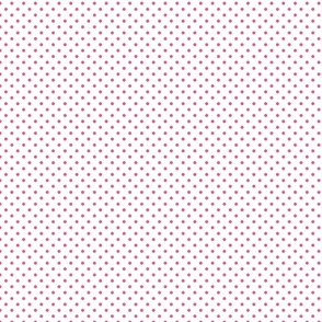 White With Pink Polka Dots - Small (Summer Collection)
