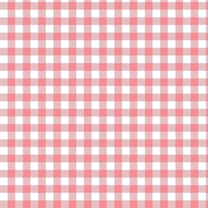 Light Pink Check - Small (Watermelon Collection)