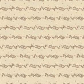 curlique stripe and dots antique 2055-31