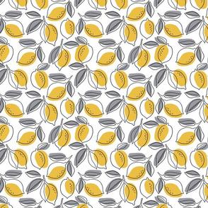 Line lemon tree