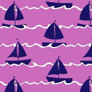 Setting Sail - Pink