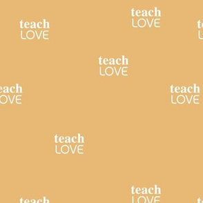teach 'm love - black lives matter positive vibes saying yellow honey
