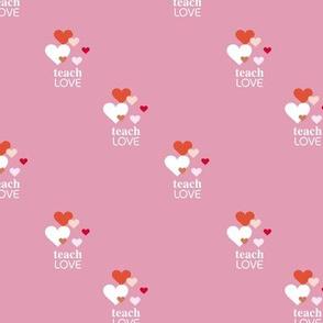 Kindness matters - teach m love lgbtq minimalist saying quote design pink red girls