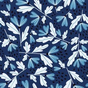 Sprinkle Floral - Navy