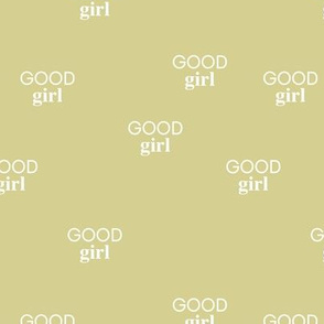 Good girl - sweet minimalist dogs and cats design for pet lovers text saying lime green white