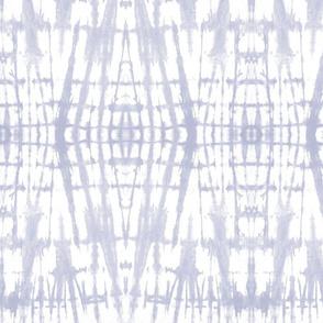 Shibori - faded periwinkle