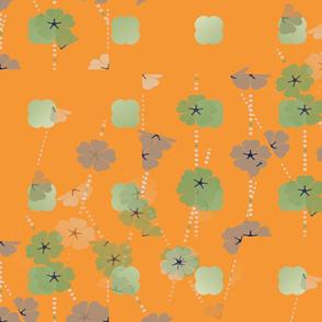 Japandi Plum Blossoms
