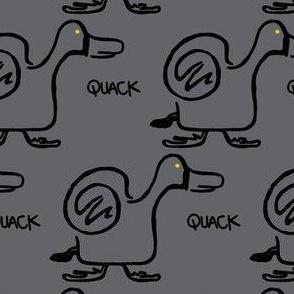 Quack Attack (dark grey)