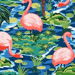 Flamingo Island_Large Scale