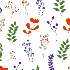floral colorful pattern