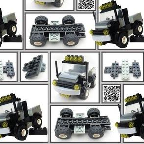 Building Brick Truck