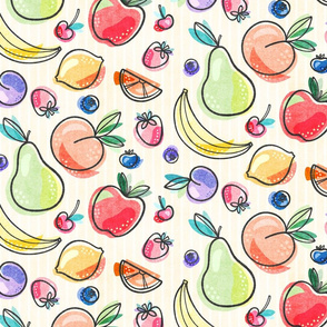 Funky Summer Fruits