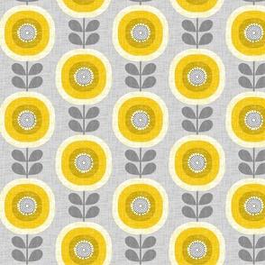 midcentury sunflowers-smaller scale