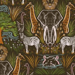 The African Grasslands