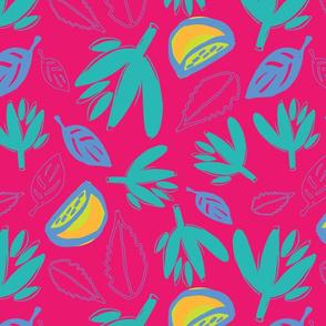 Lemon Leaves Berry