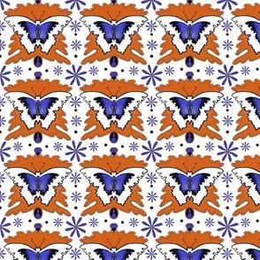 Groovy Purple Butterflies