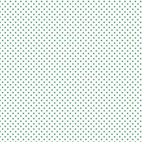 Green Polka Dots - Small (Watermelon Collection)
