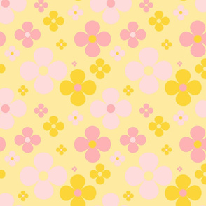 Flower Power - Yellow 5