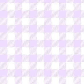 Pastel Gingham Purple