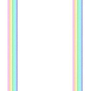pastel rainbow stripe