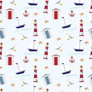 Nautical By Sea