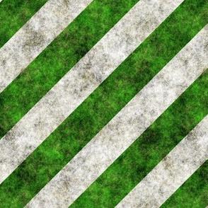 Grunge Green Stripes