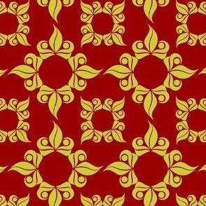 Red Royal Leaves