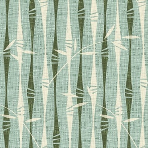 Abstract Bamboo Stripes
