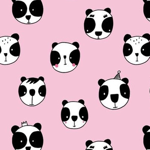 Panda party pink