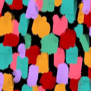 Colorful Paints Daubs