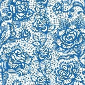 Rose Lace   Denim