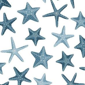 Starfish -blue