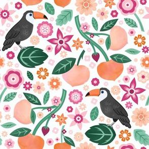 Toucans & Peaches