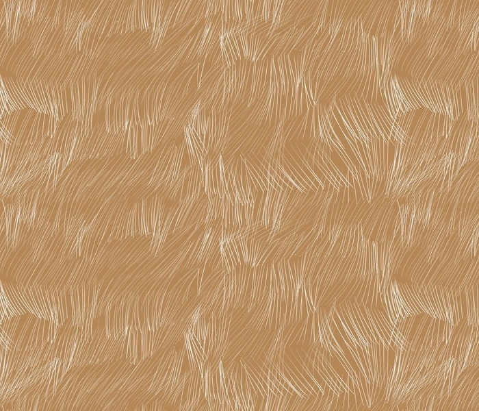 Wild Grass in the wind - white on taupe