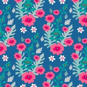 Meadow flower pattern 5