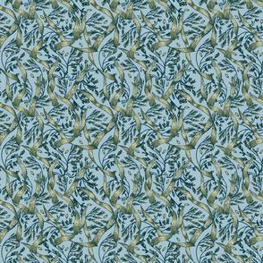 Wild Grasses Blue